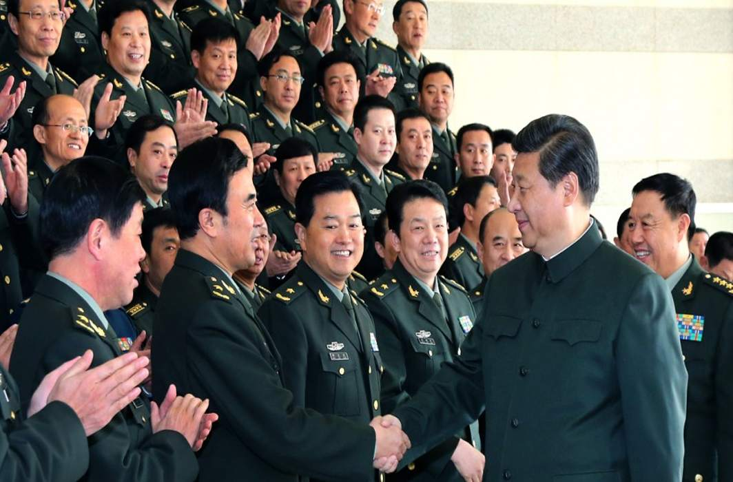 Xi asks armed forces to be party's loyal and ready to win wars
