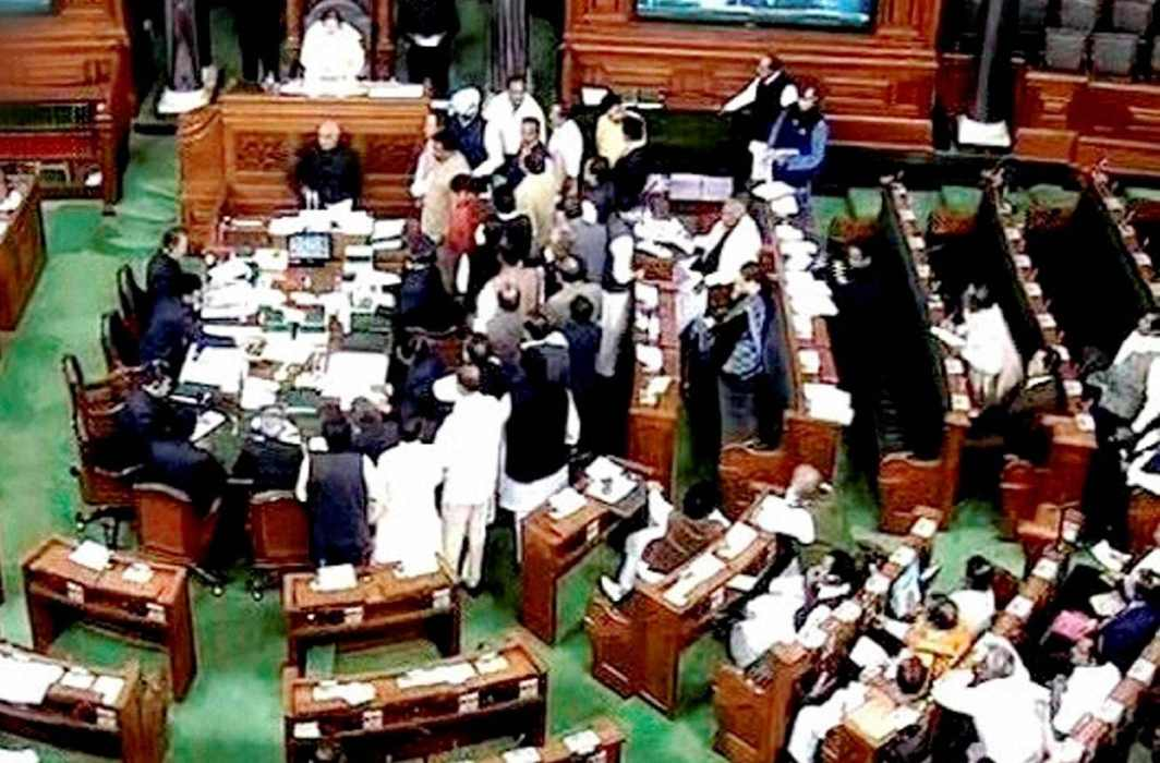 Opposition uproar leads to adjournment of Lok Sabha, Rajya Sabha
