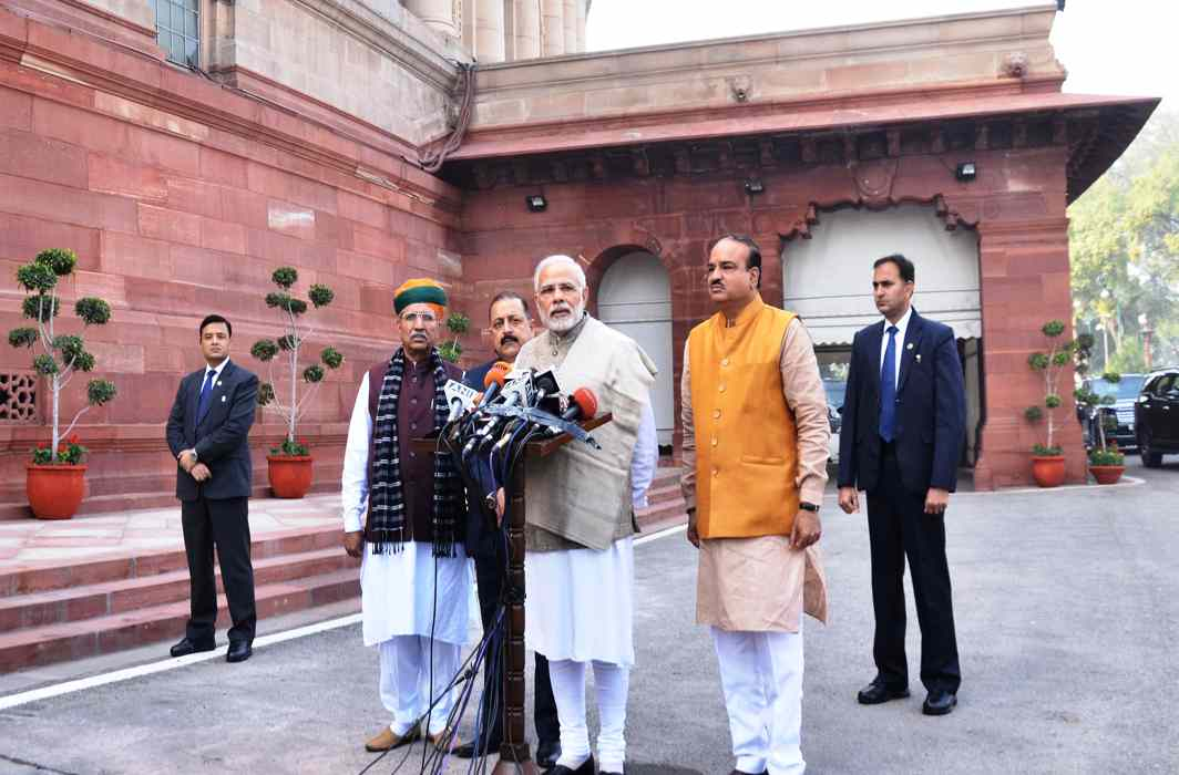 Parliament's winter session gets off to a stormy start, has 40 Bills on agenda