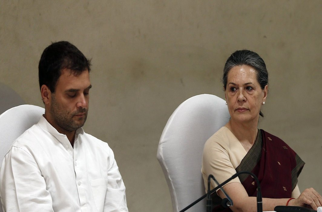 Sonia Gandhi outlines challenges for Rahul as he takes over the reins of the party