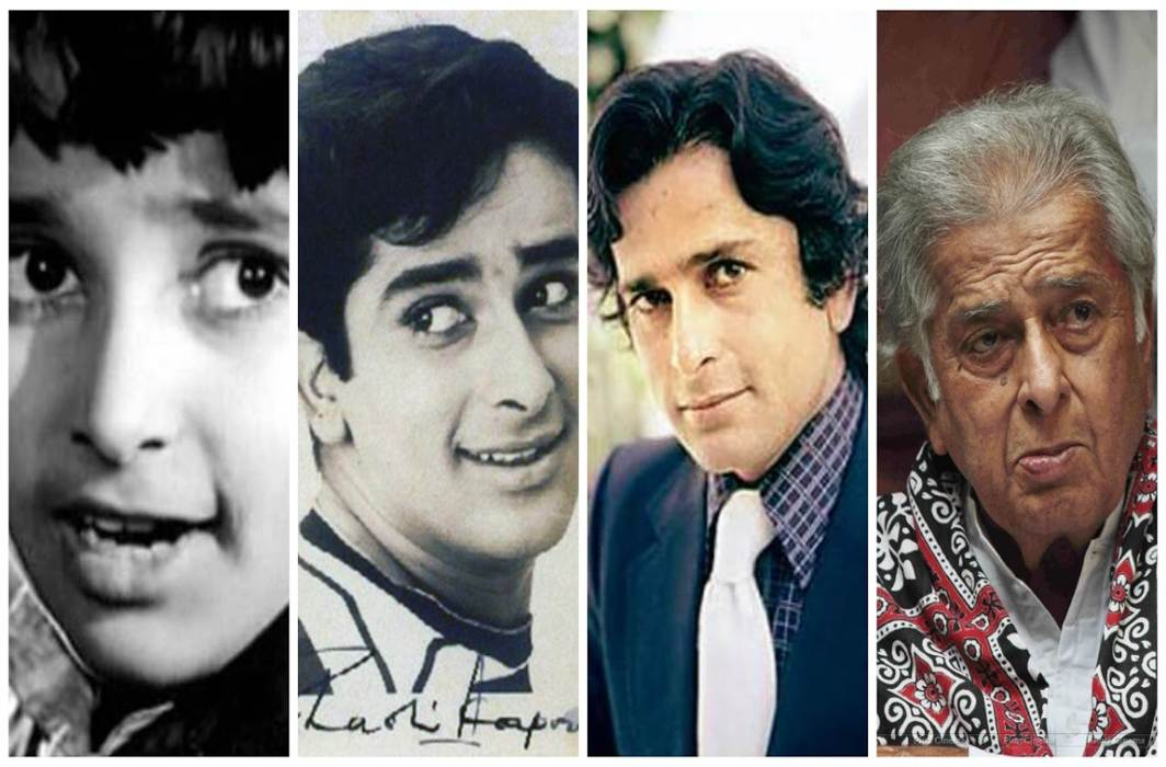 Romantic hero of yesteryears, Shashi Kapoor, dies at the age of 79