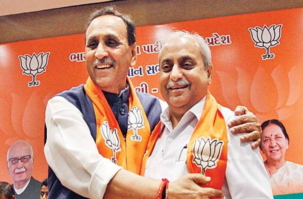 Vijay Rupani to continue as Gujarat CM; Hiamchal CM yet to be decided