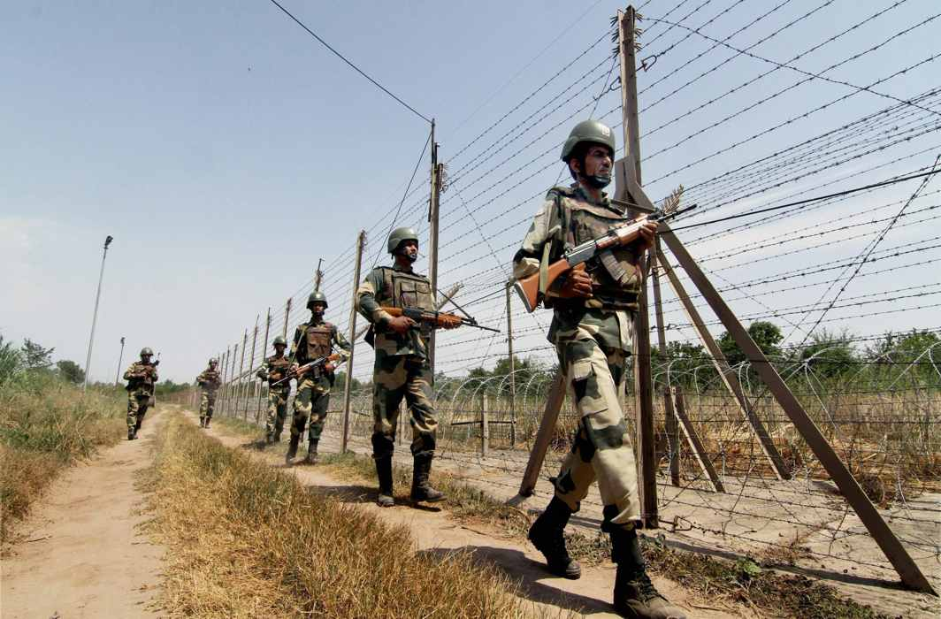 BSF kills intruder along IB in Jammu; destroys two Pakistani posts in retaliatory fire