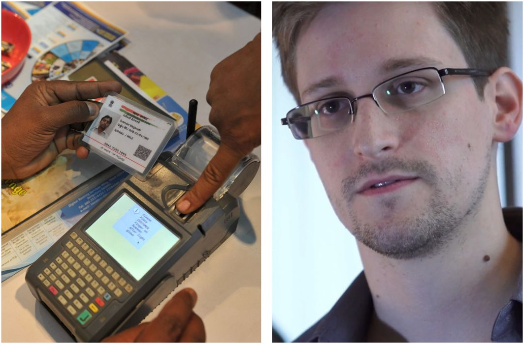 "Linking Aadhaar to services ""must be criminalized"", says Edward Snowden"