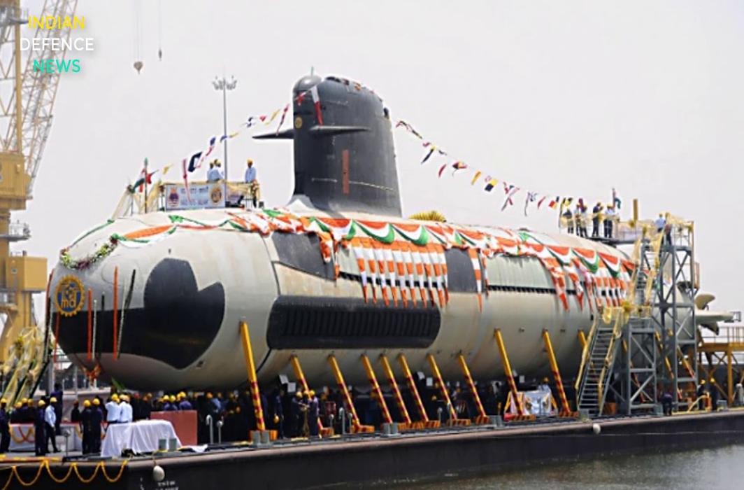 Scorpene-class sub launch today
