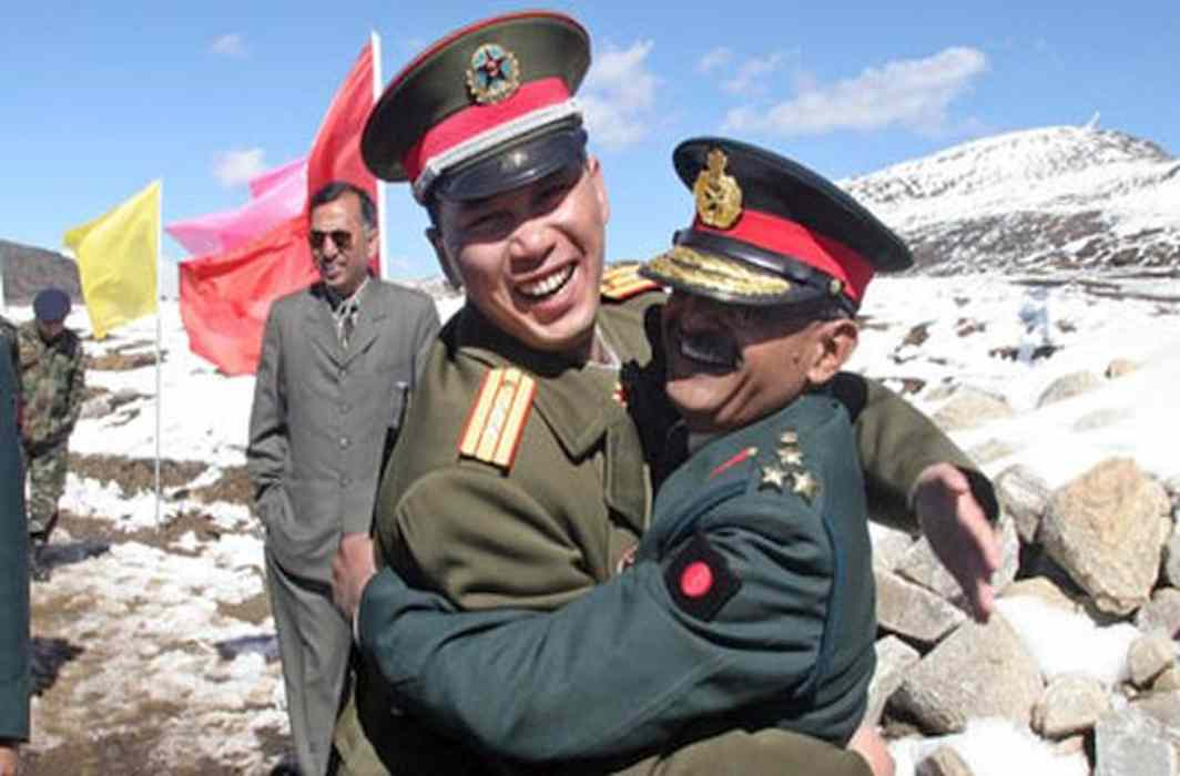 Chinese foreign ministry: India, China should resolve border differences in a calm way