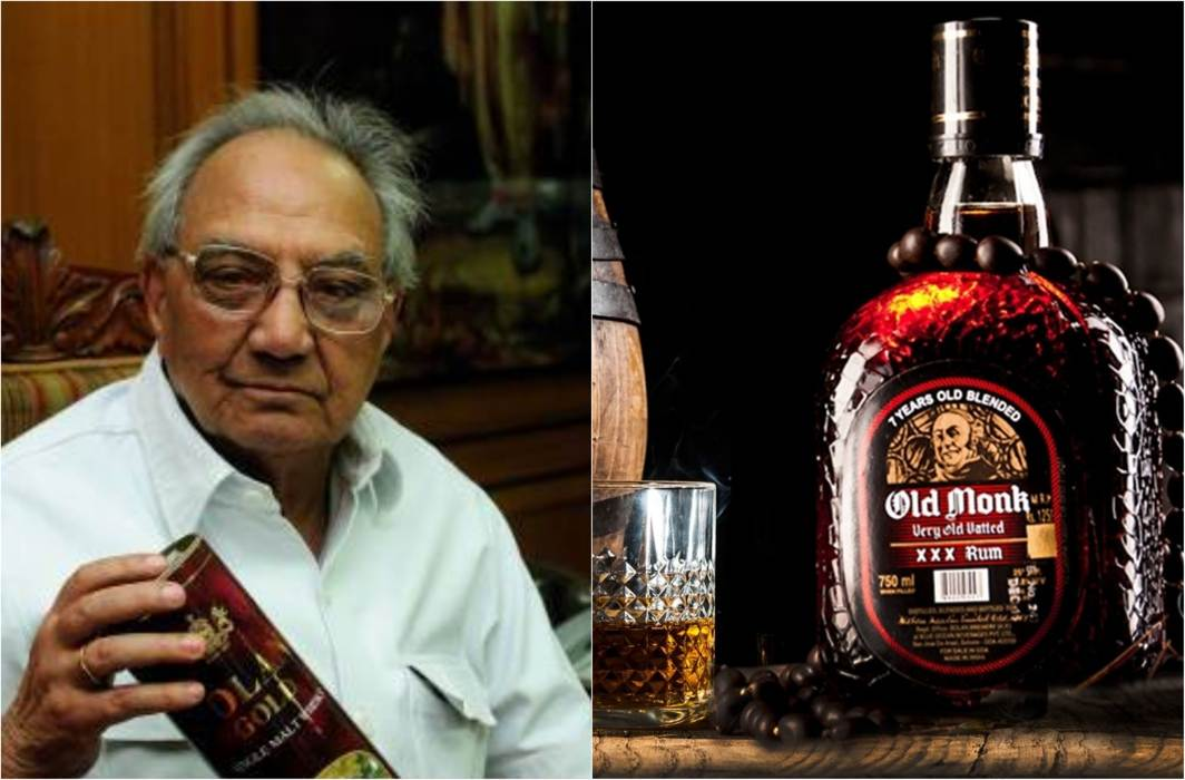 Man behind Old Monk rum, Kapil Mohan, passes away at 88