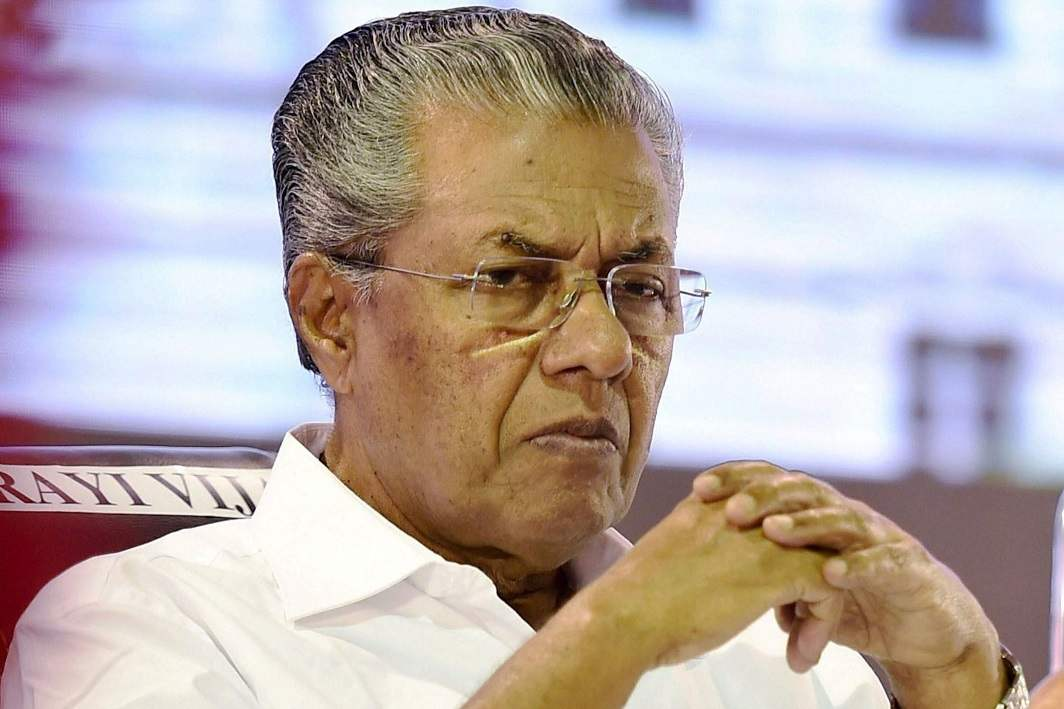 Kerala CM praises China, slams move to 'isolate' it