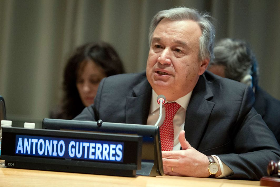 UN Secretary General welcomes North-South Korea talks