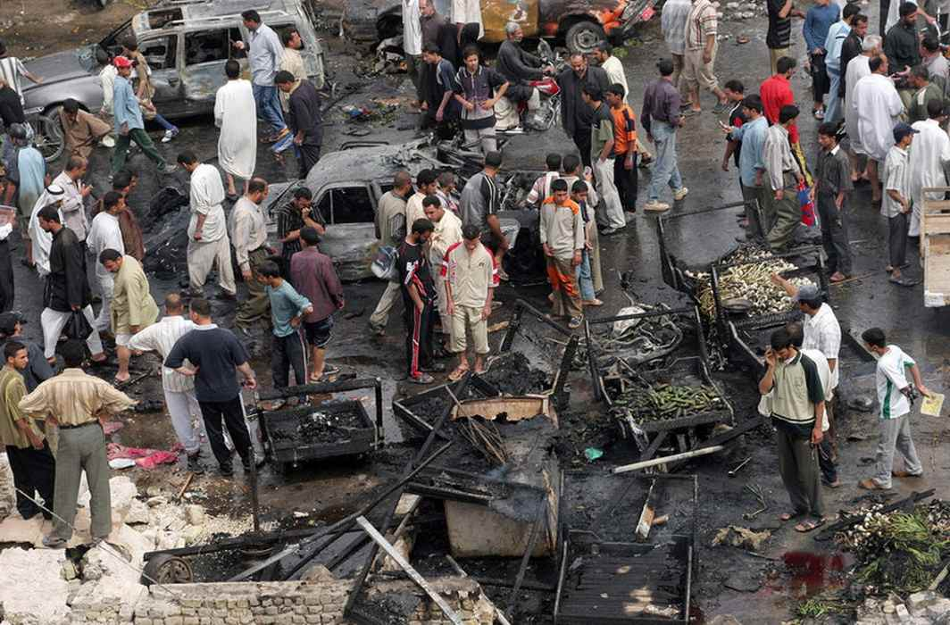 Baghdad: Two suicide bombings leave 38 killed