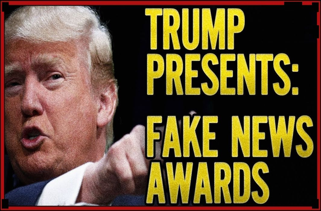 Trump Presents Fake News Awards