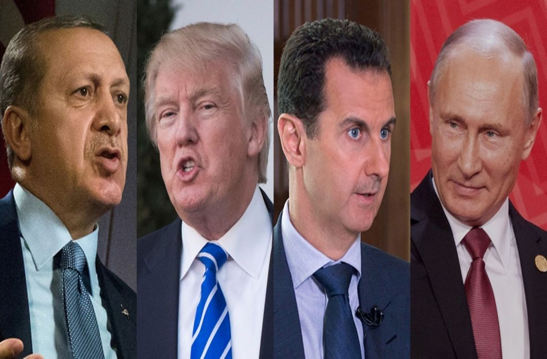 Russia, Turkey & Syria oppose Trump's plan on Kurdish force