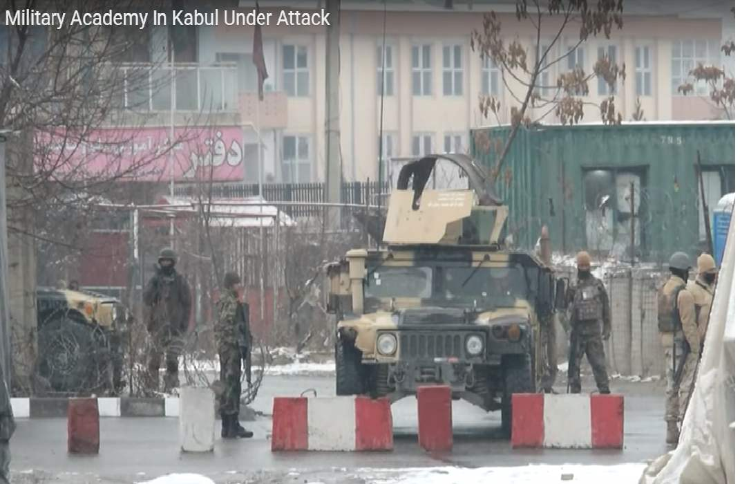 Kabul: Five soldiers killed in a terror attack on Military University