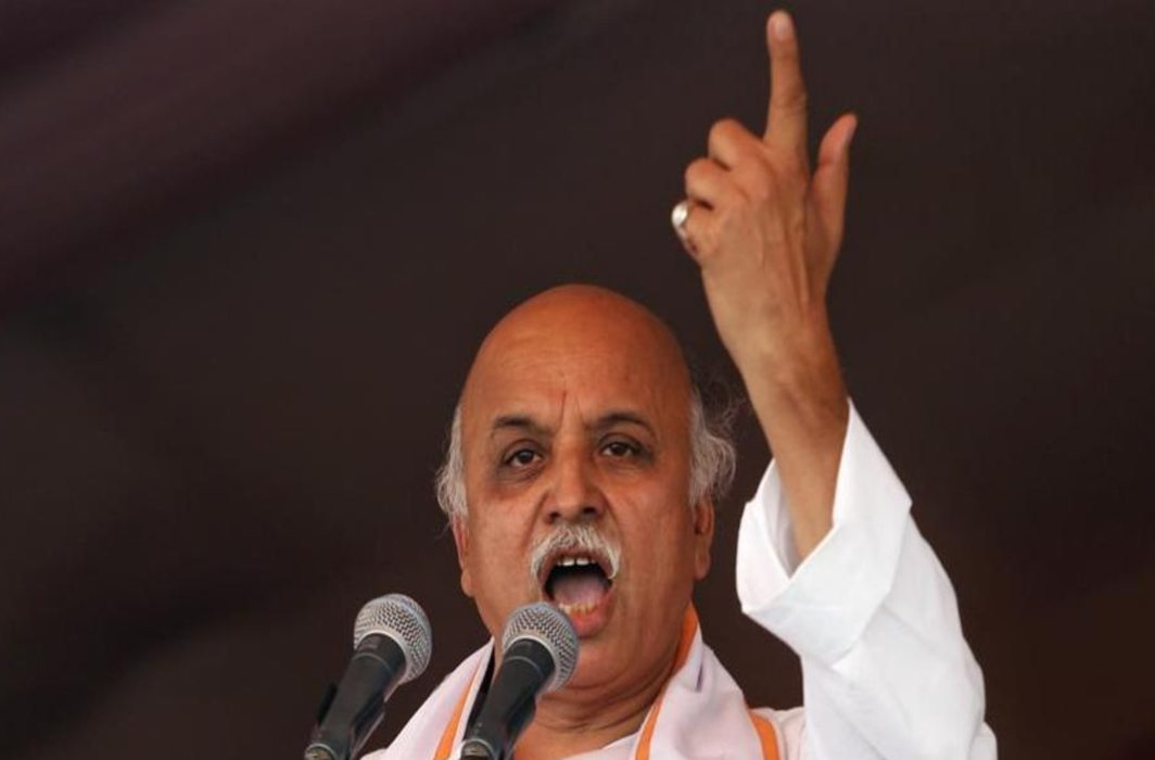 Togadia goes missing, found unconscious in Ahmedabad