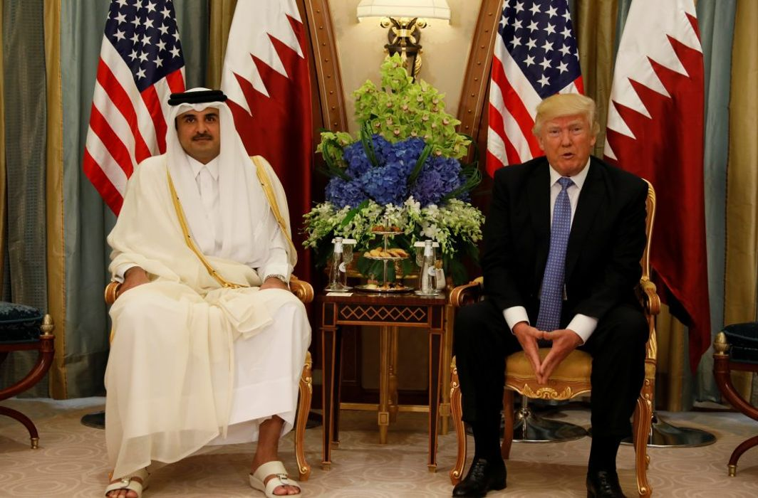 Trump thanks Qatar for combating terrorism