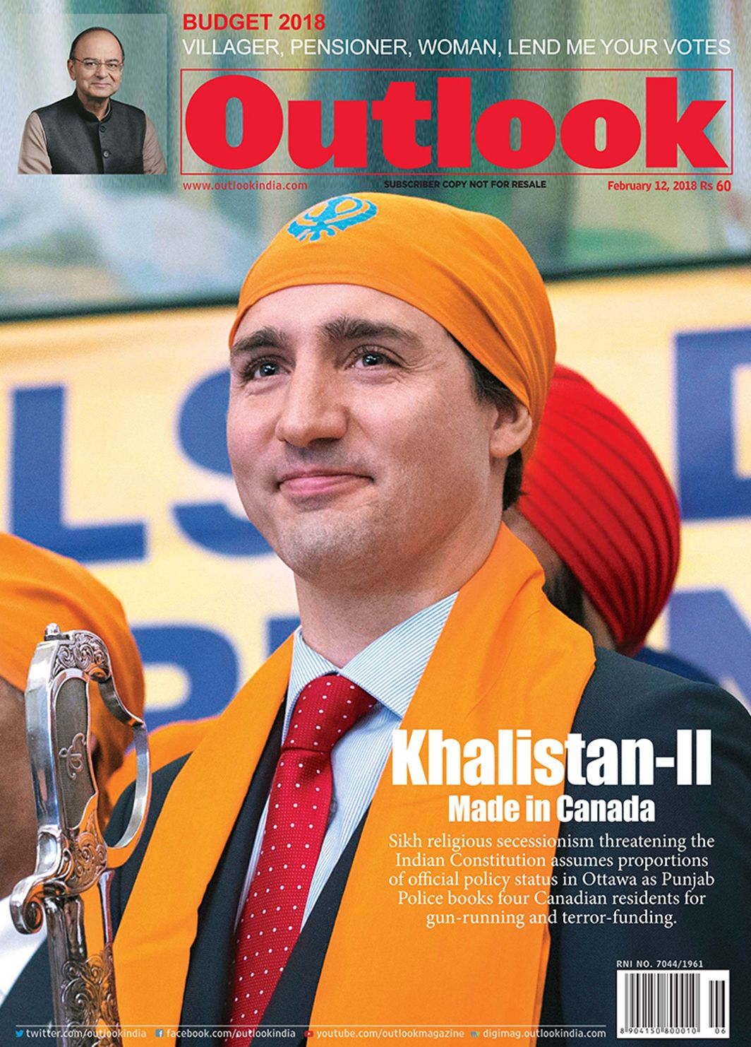 Canada rejects allegations on support to Sikh separatists