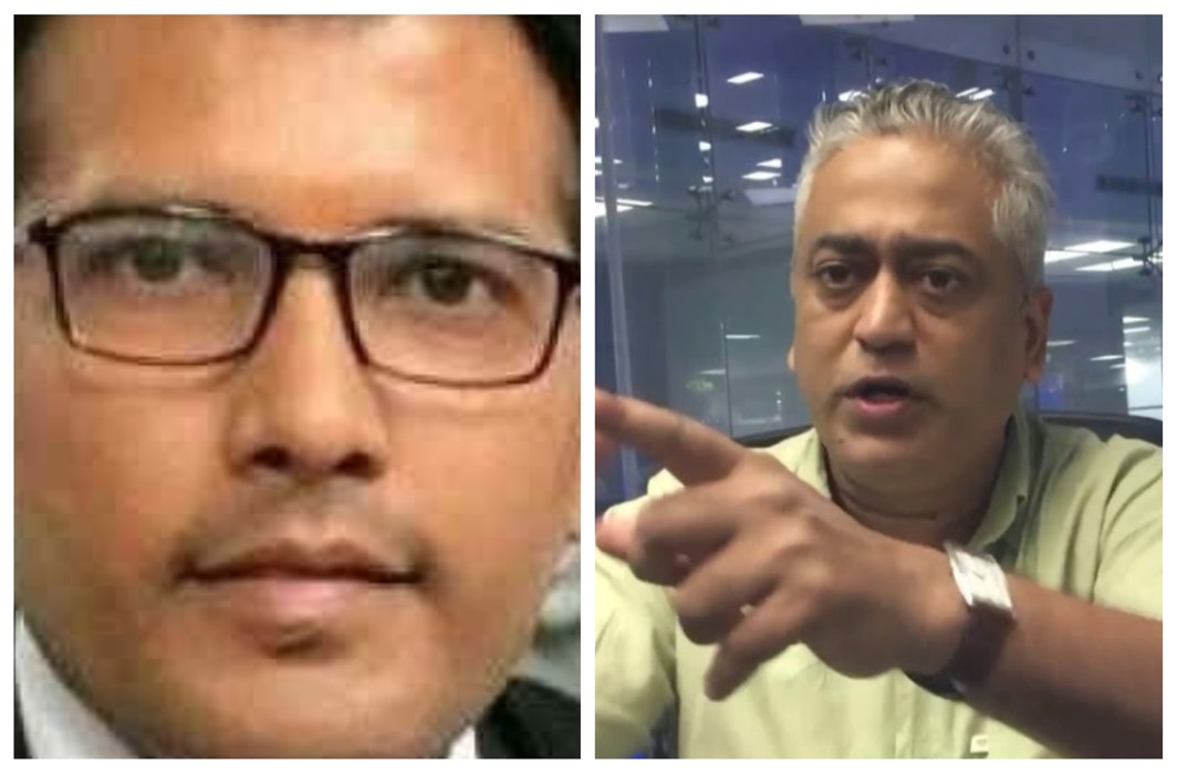 Rajdeep Sardesai threatens Rs 100 defamation suit against Prashant Patel after police complaint proved ineffective