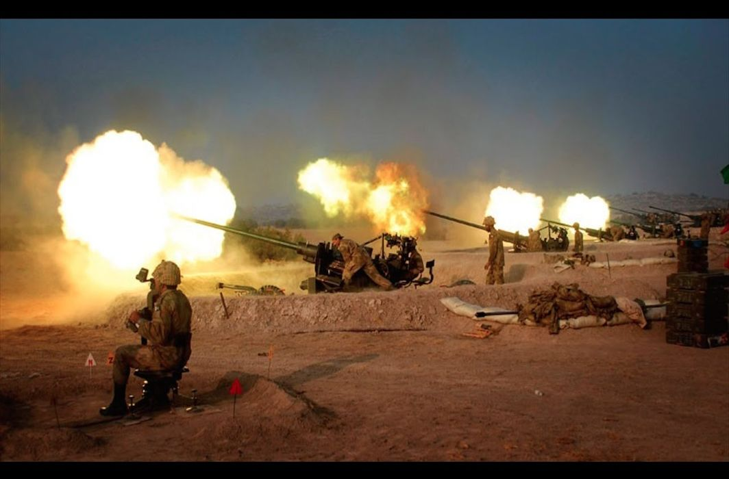 Shelling by Pakistani troops
