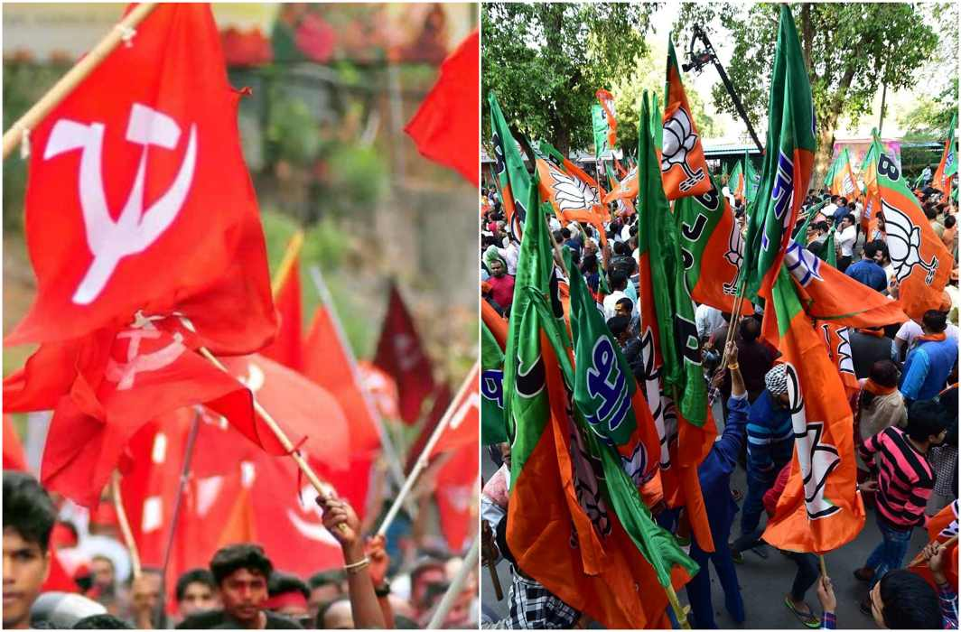 Congress missing while BJP, Left gears up for Tripura polls