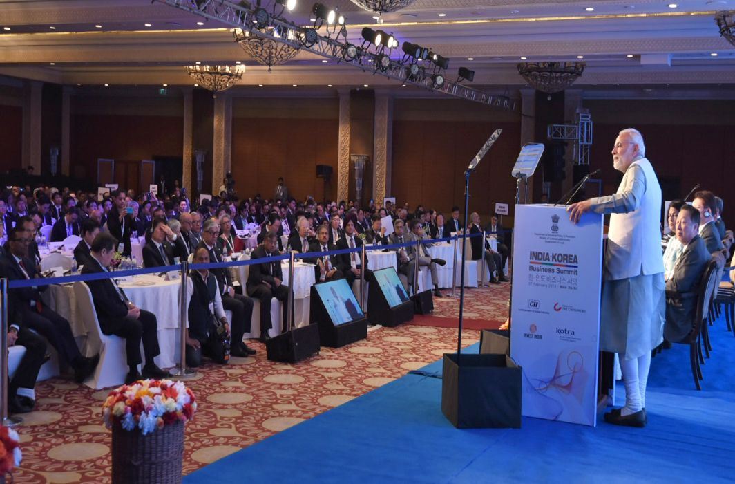 Pitching for foreign investments, PM Modi says India will soon be 5th largest economy