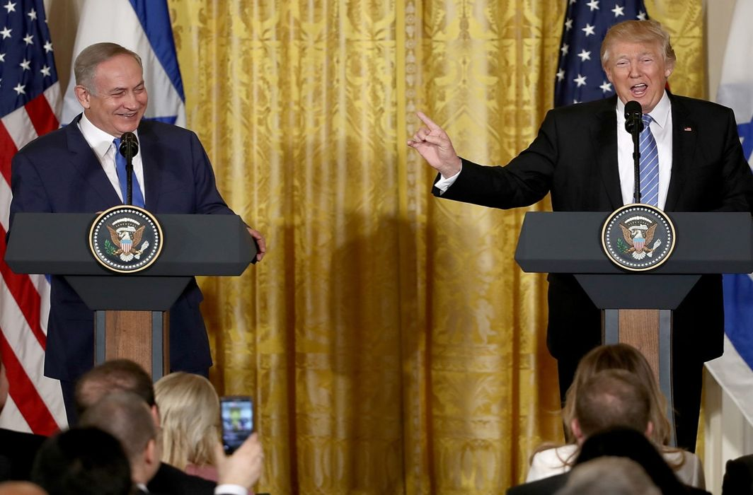 Donald Trump gives shock to Israel on peace plan