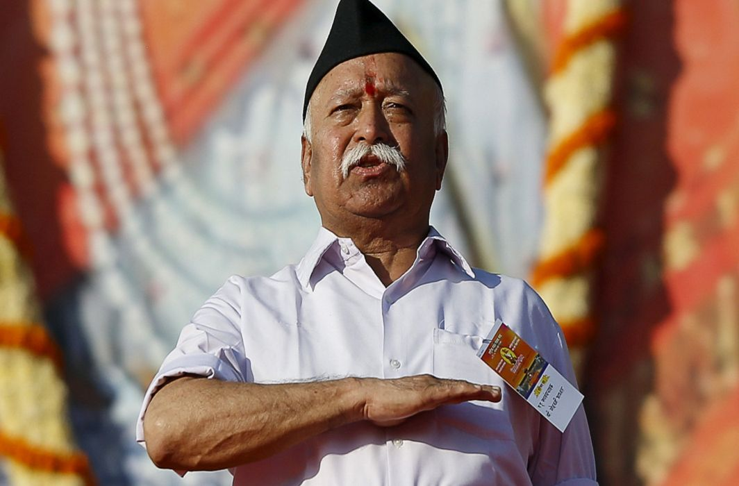 Bhagwat compares Army's mobilisation skills with RSS; Rahul says: Shame on You