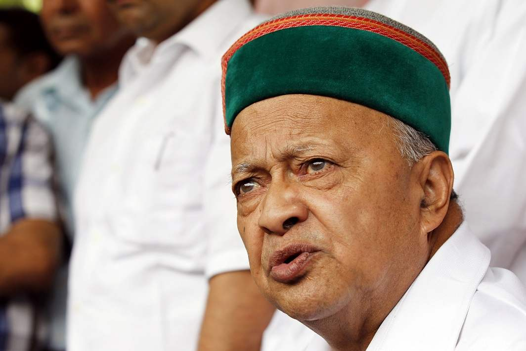 ED files charge-sheet against Virbhadra Singh