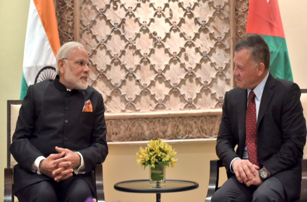 Jordan's King Abdulllah II to visit India for three days