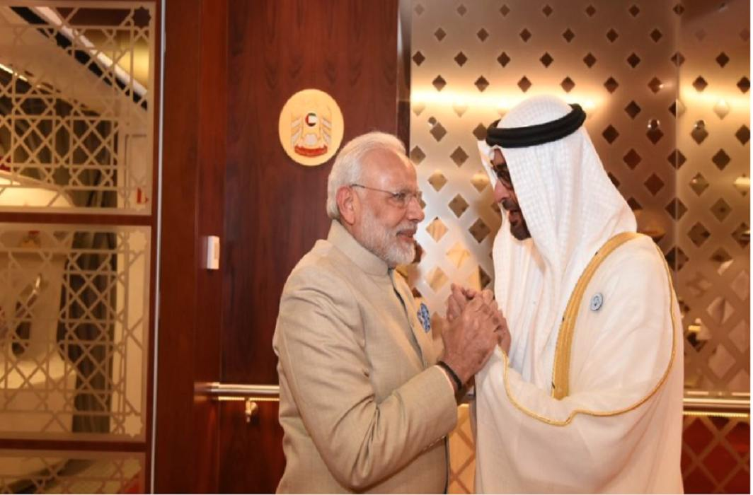 PM Modi meets UAE leaders, Indian community