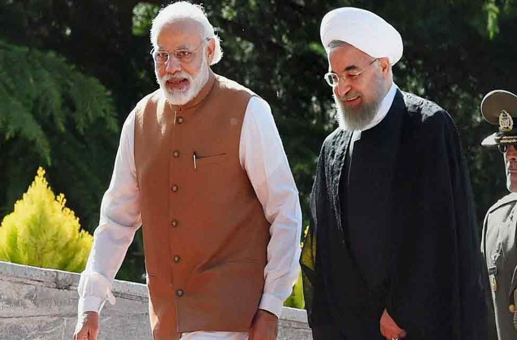 Iranian President Rouhani arrived in Hyderabad before reaching Delhi