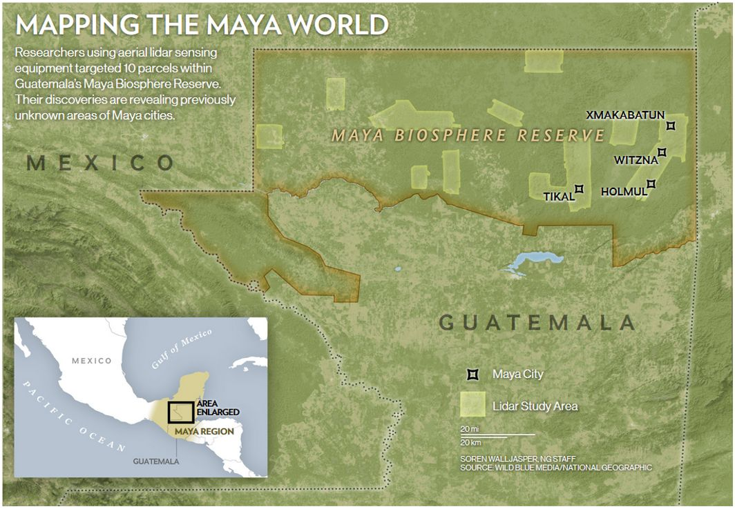 Hidden Mayan Civilization Revealed in Guatemala Jungle