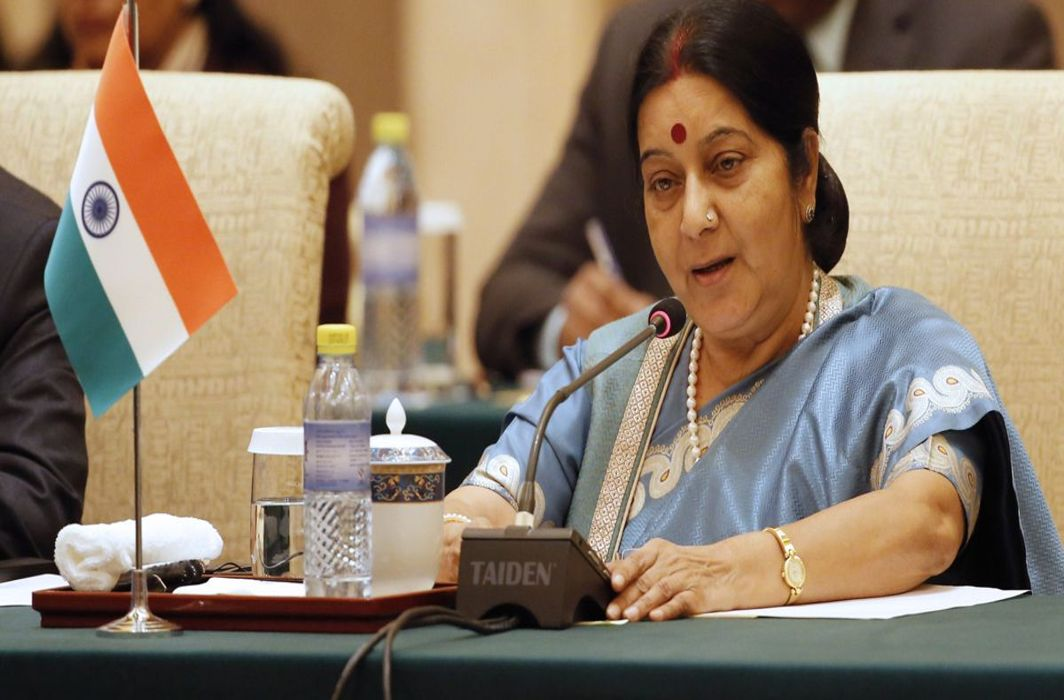 EAM Sushma Swaraj to visit Saudi Arabia today