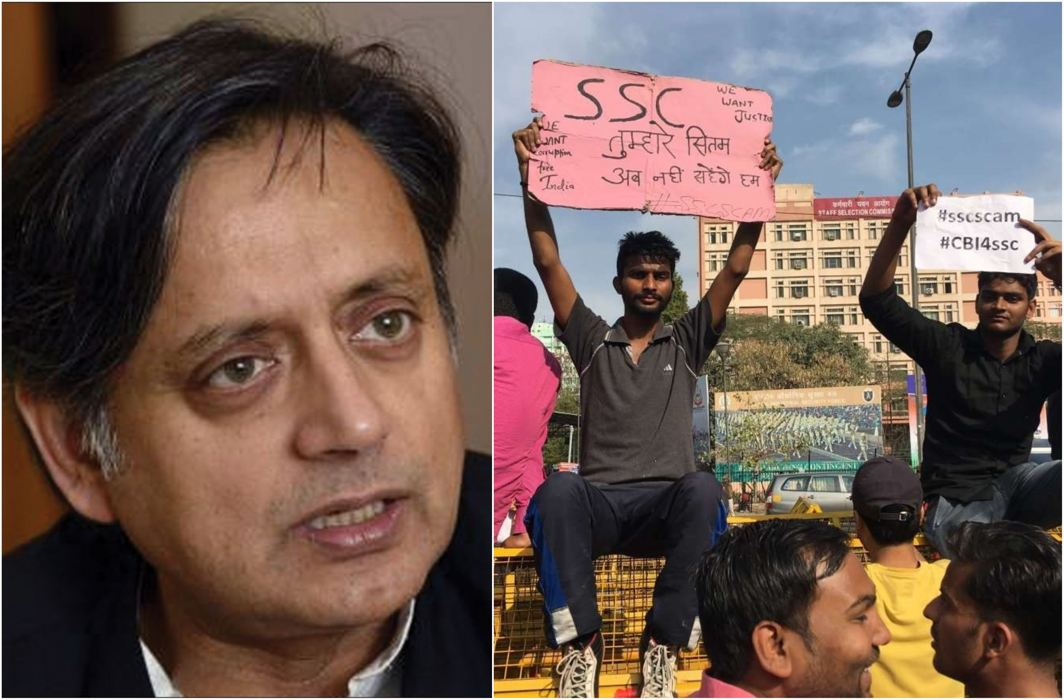 SSC CGL Exam: Shashi Tharoor Demands CBI Probe on paper leak