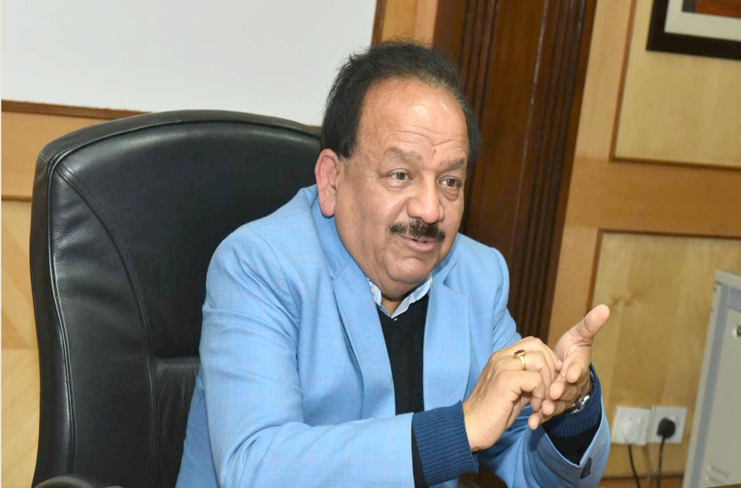 Science Minister Harsh Vardhan