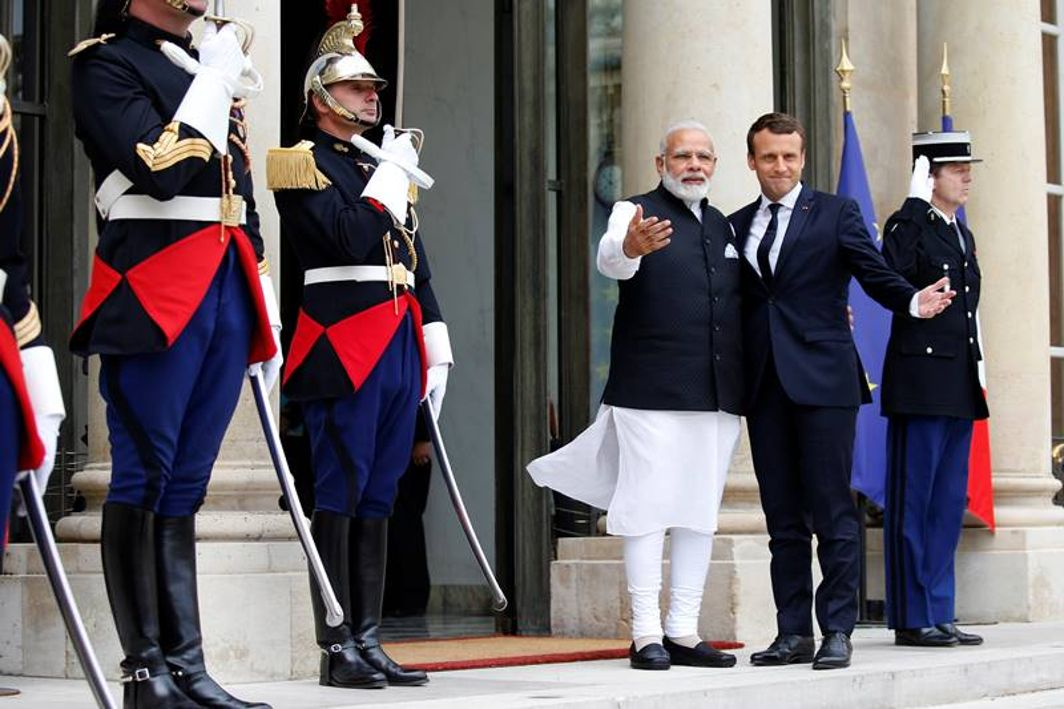 French President Macron to begin India sojourn on Friday