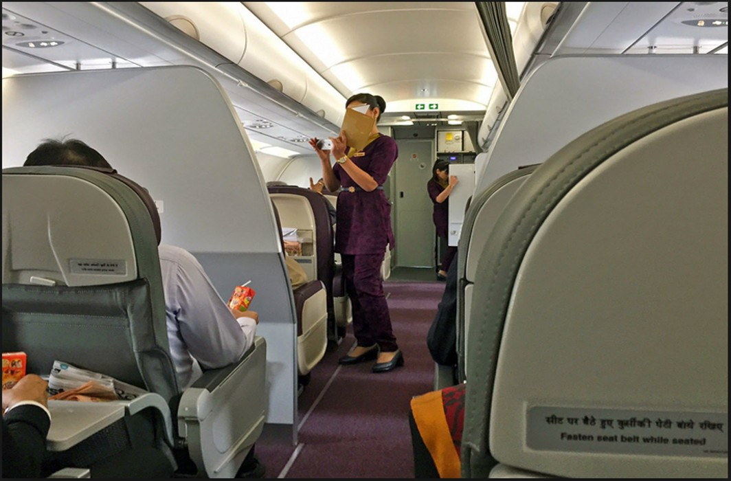 Man held for sexually harassing Air Vistara crew member