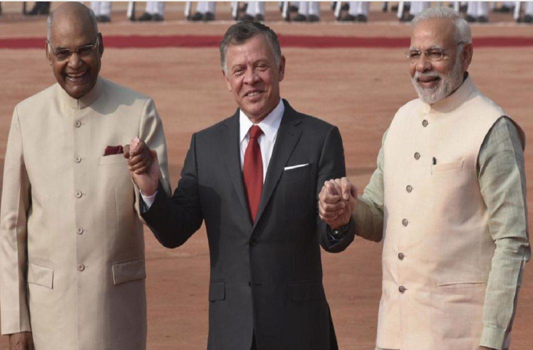 Jordanian King Abdullah II meets PM Narendra Modi