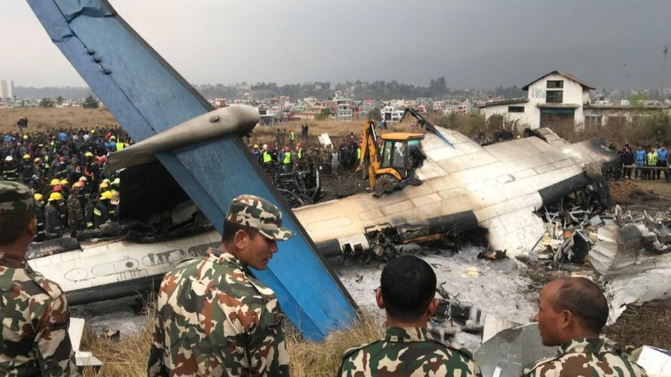 40 killed in US-Bangla plane crash at Kathmandu airport