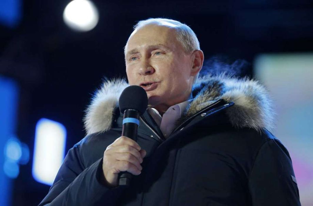 Russia: Vladimir Putin re-elected for another six years