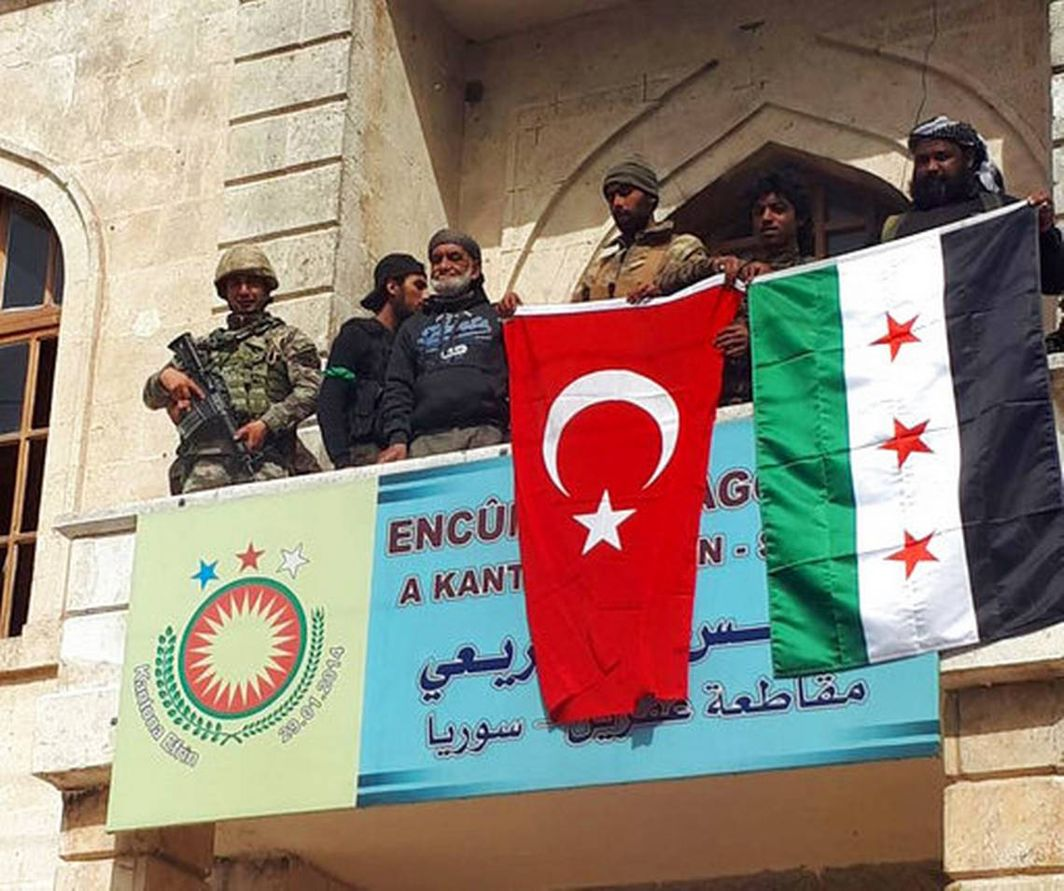 Syria demands Turkish forces' withdrawal from Afrin