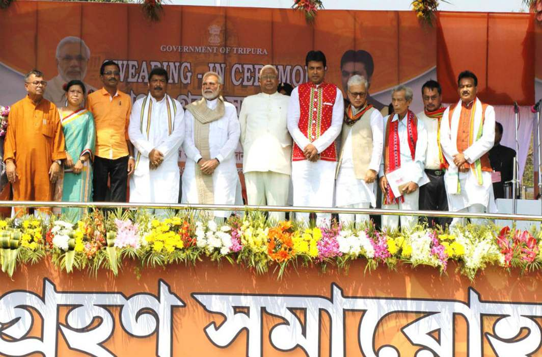 Tripura Ends CPM Tedium by Trading Decency for False Eldorado