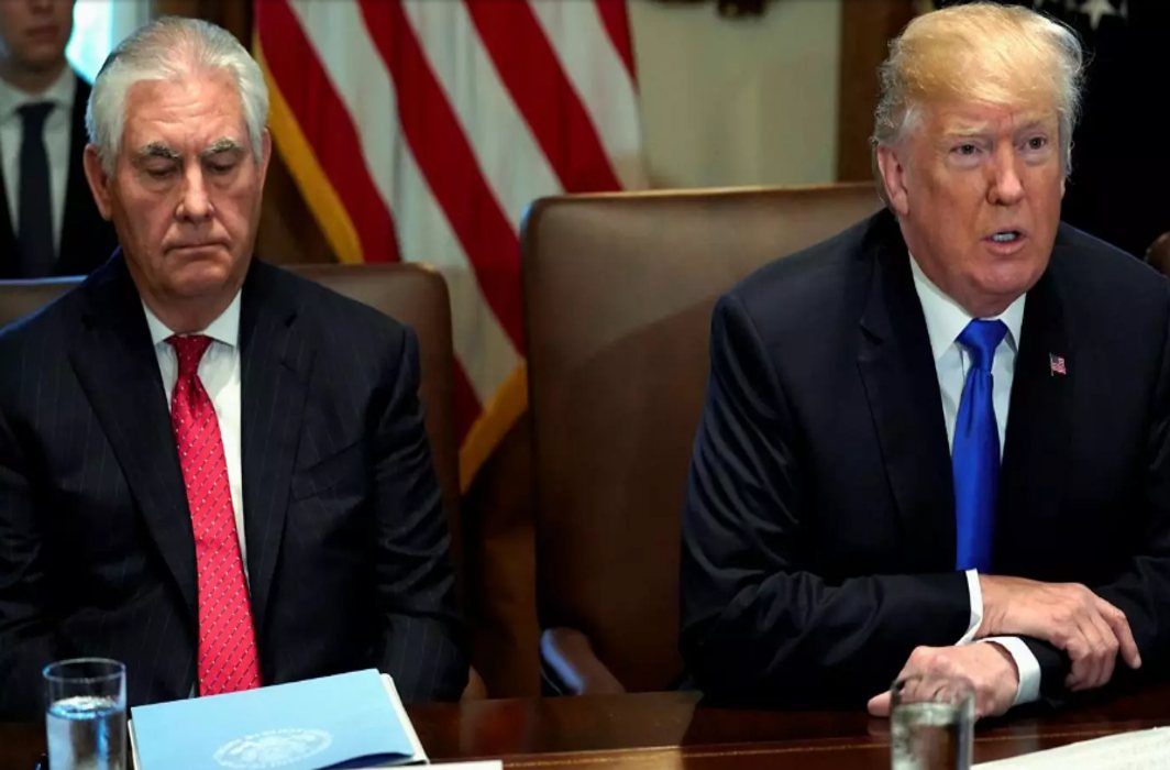 Trump sacks Rex Tillerson as Secretary of State