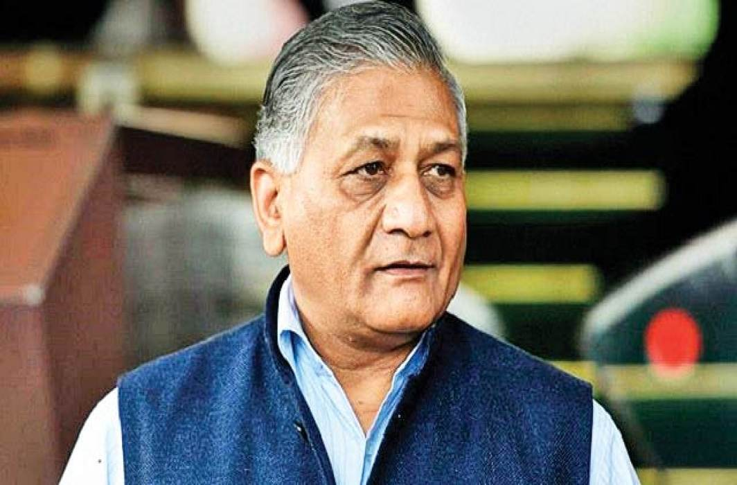 V. K. Singh brings 38 workers bodies from Iraq