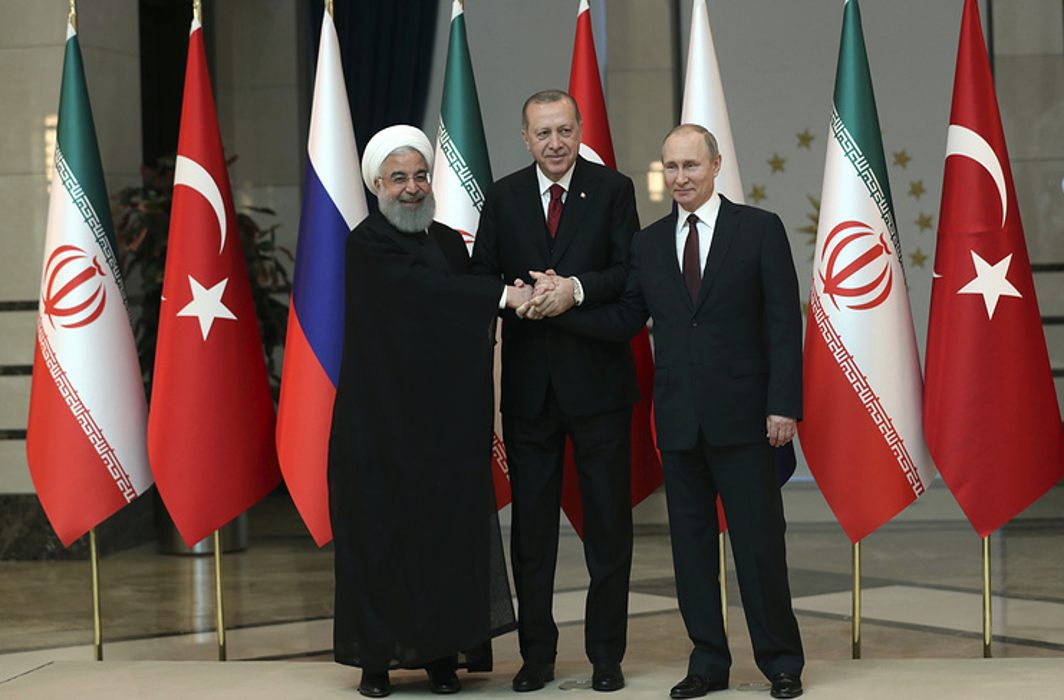 Russia, Turkey and Iran support Syrian sovereignty, integrity