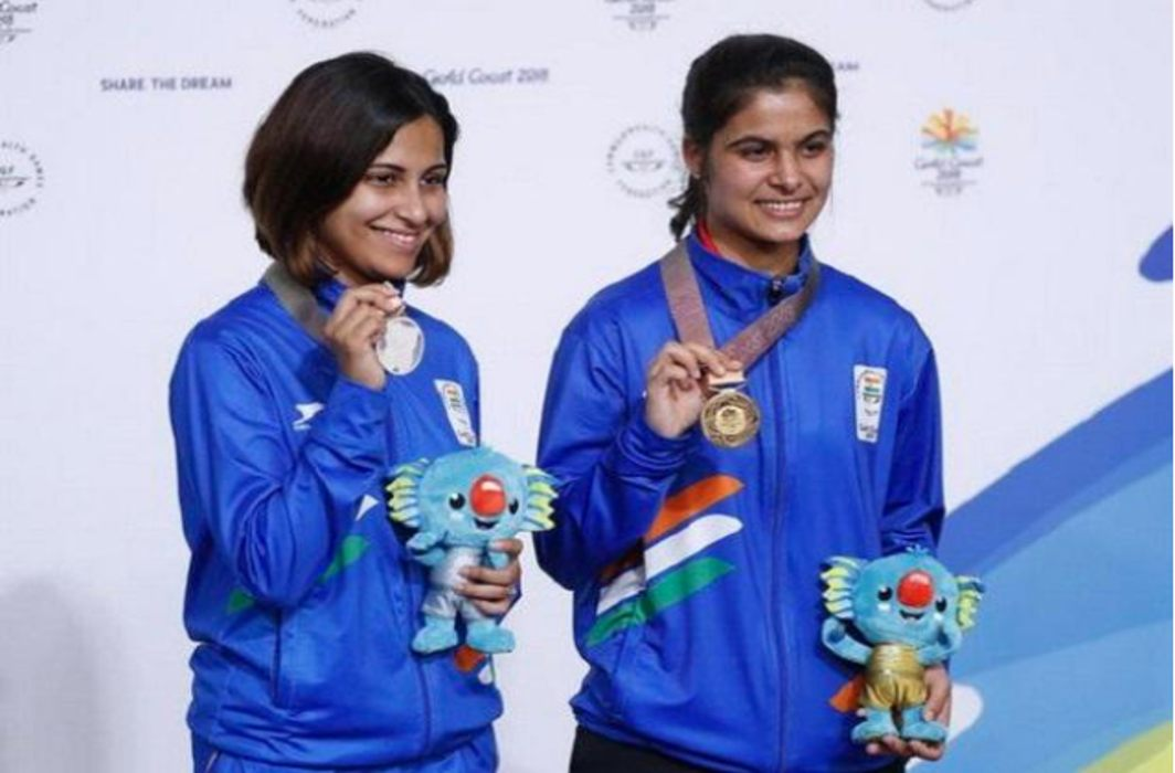 India continues winning gold at CWG, stands third