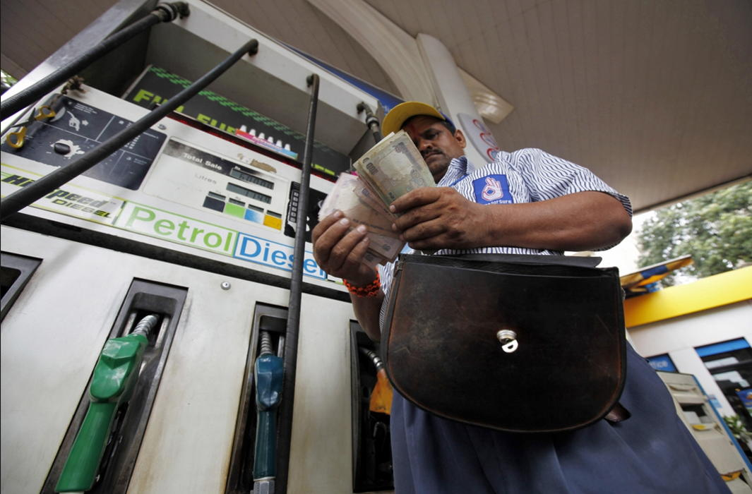 Petrol Diesel prices touch the high of five years ago when crude was $30 costlier