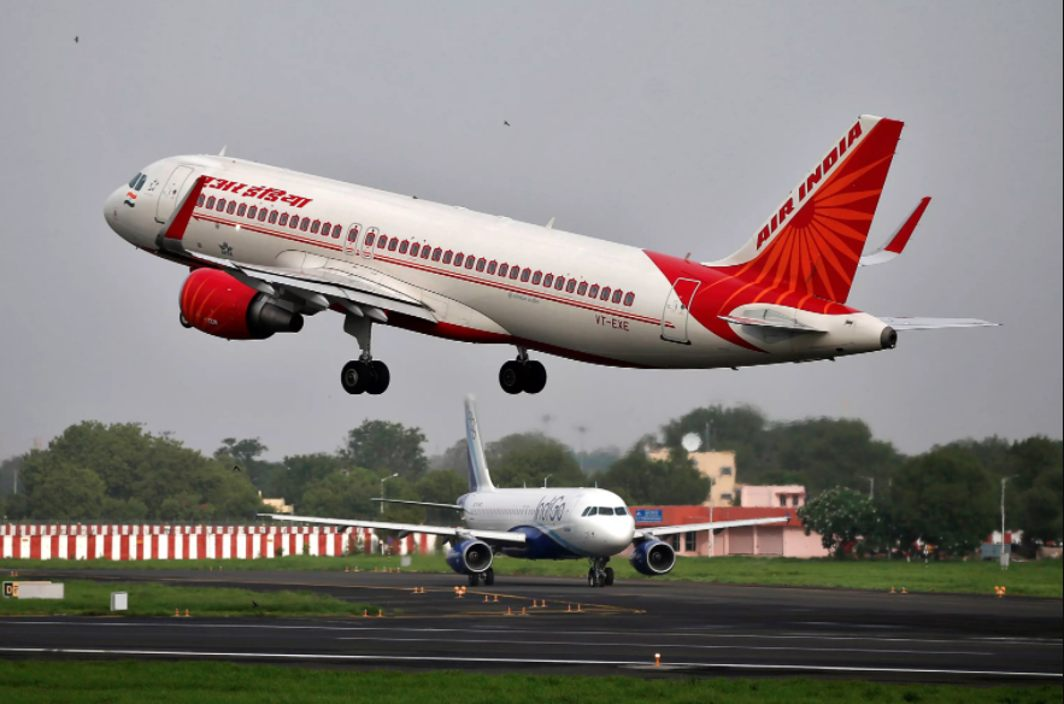 Air India window panel falls, injures passengers