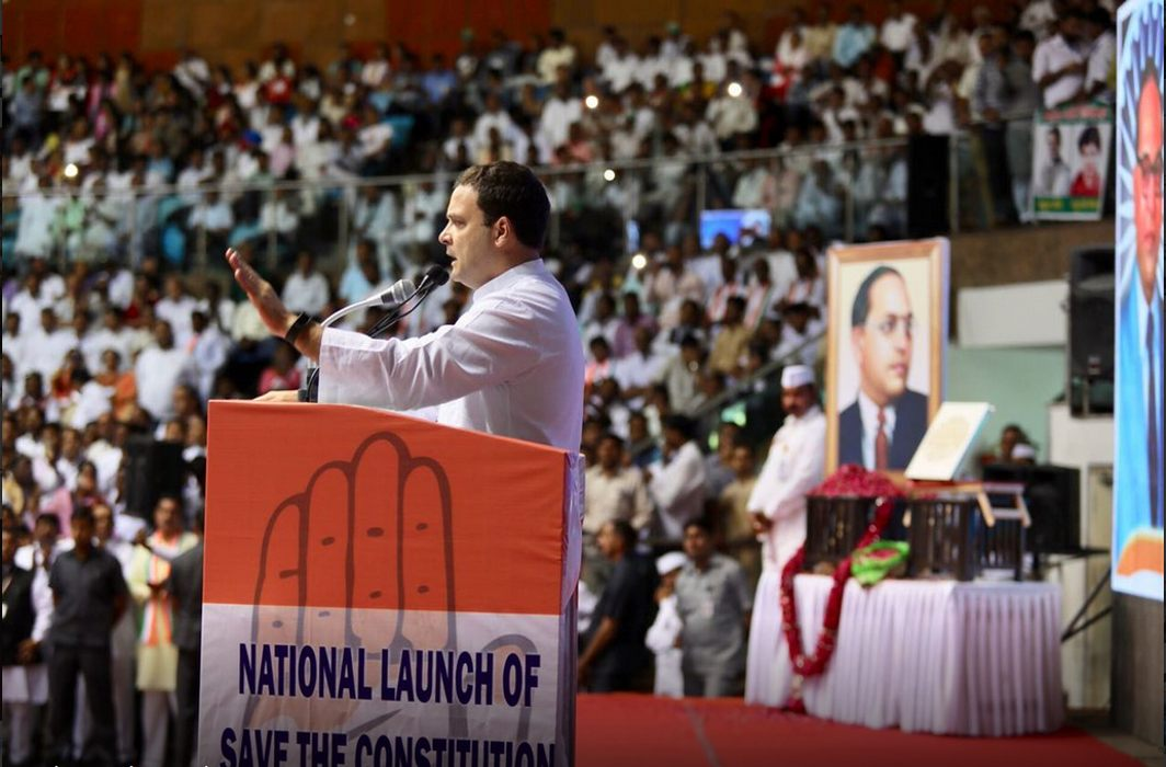 Rahul Gandhi attacks Modi govt at Save the Constitution campaign, says it wants to destroy all institutions