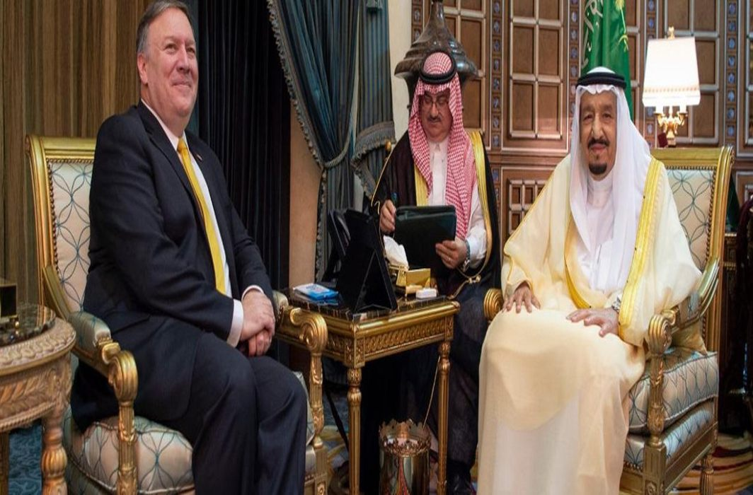 Mike Pompeo visits Saudi Arabia, Israel and Jordan