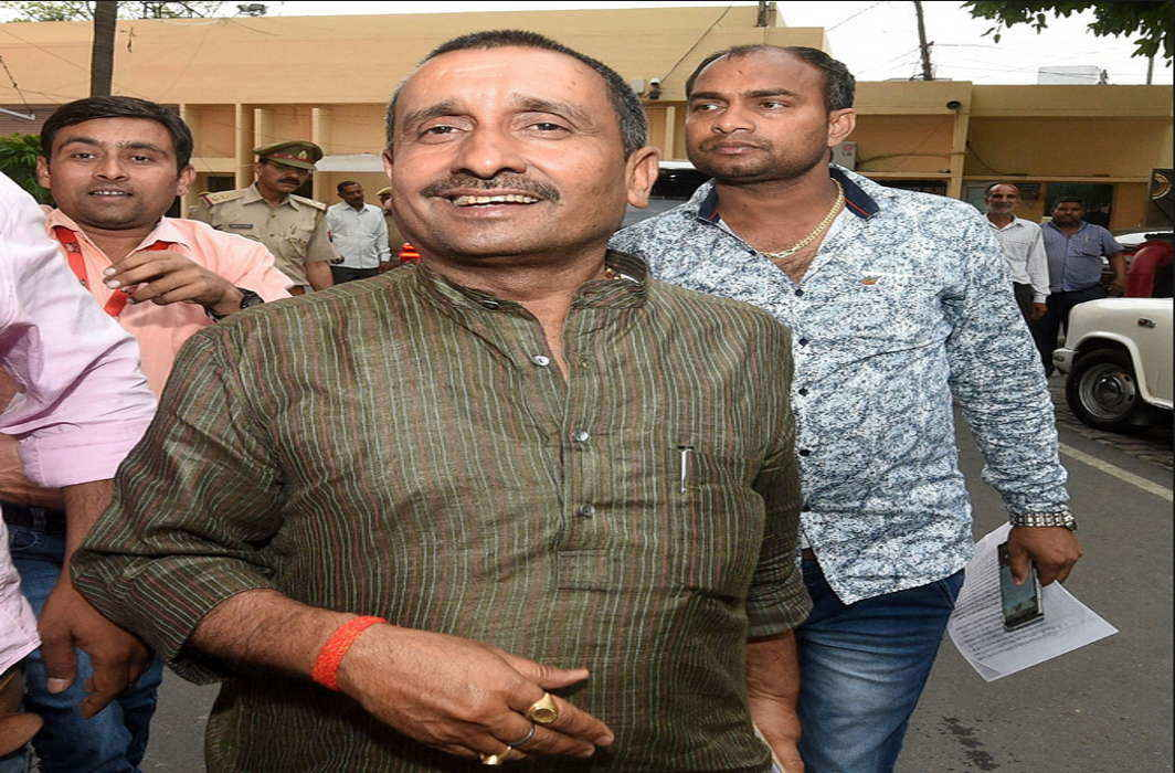 Unnao gangrape victim, kin demand death penalty for BJP MLA Kuldeep Sengar